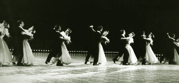 Развитие бального танца в СССР