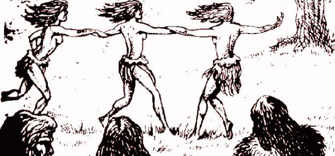 Танцы первобытных народов. История зарождения и развития танца