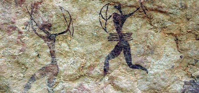 Танец в изобразительном искусстве (от первобытности до 16-18вв)